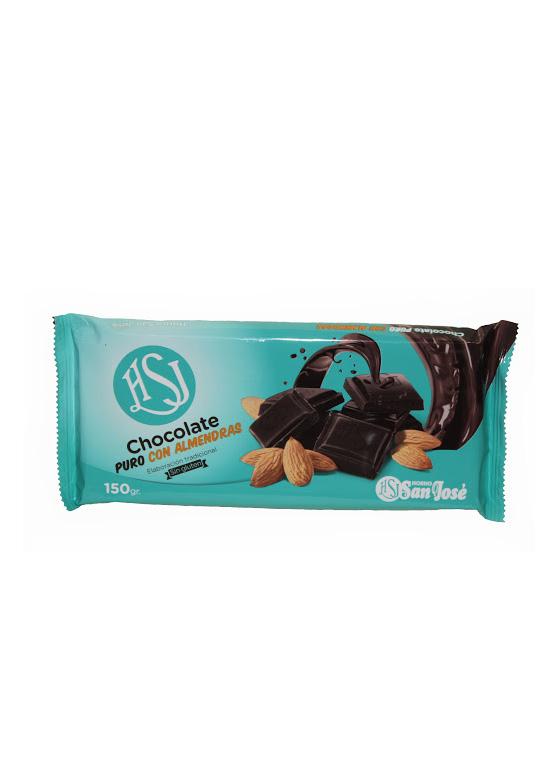 Chocolate Puro con Almendras sin Azúcar