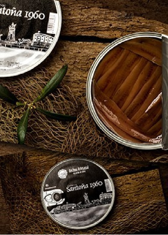 Anchoas Santoña 1960 225gr.